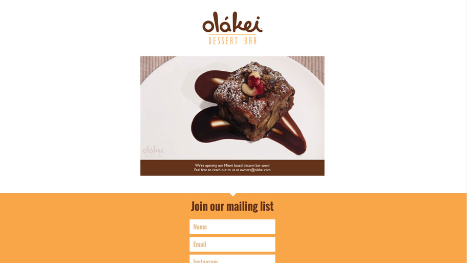 Olakei Dessert Bar Soon Site Image 2