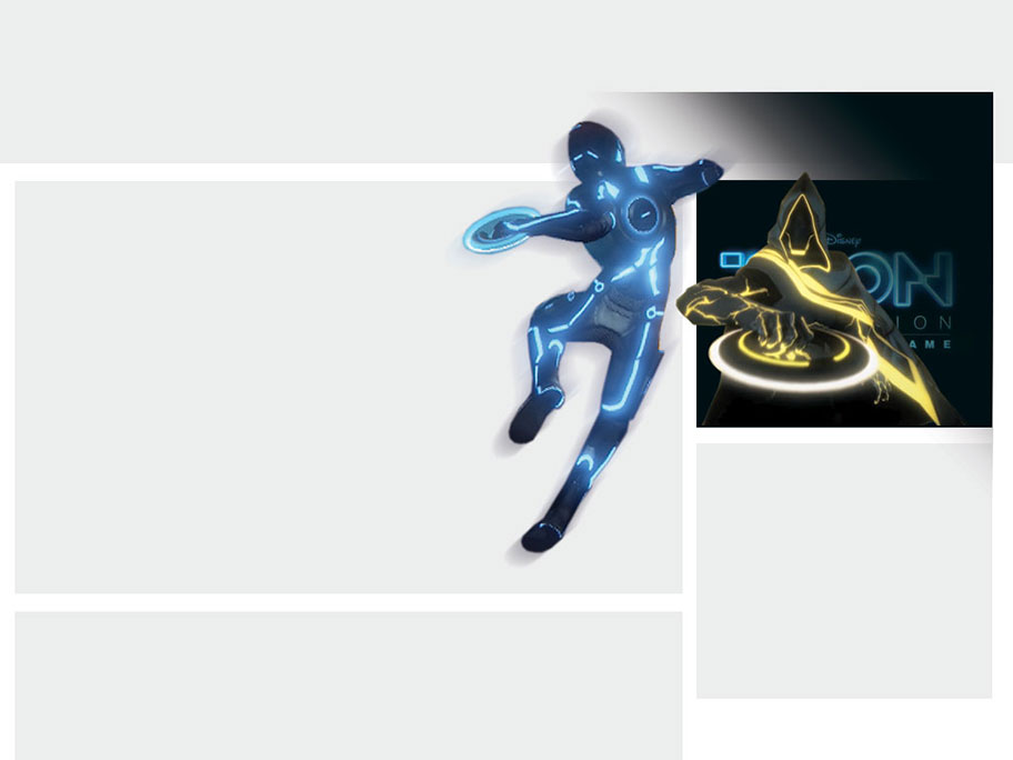 Disney's Tron Evolution Storyboard Image 3