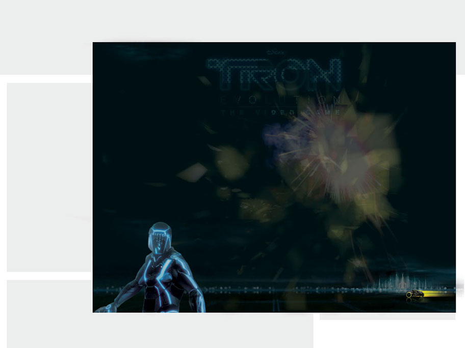 Disney's Tron Evolution Storyboard Image 6